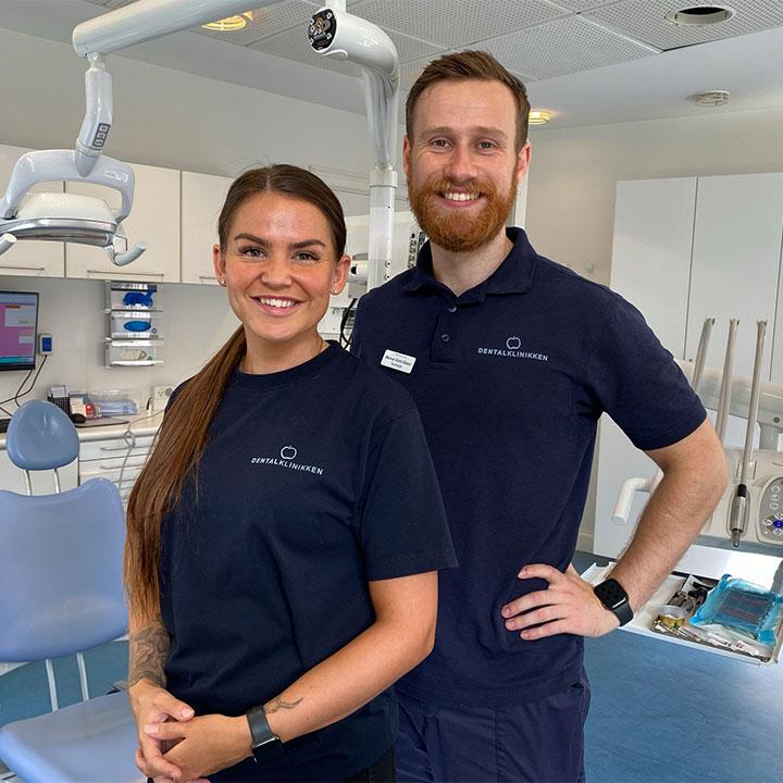 Du er velkommen hos tandlægen